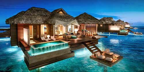 Sandals Over-the-water Villas